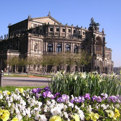 Semperoper Dresden © Dresden Marketing GmbH/Christoph Münch